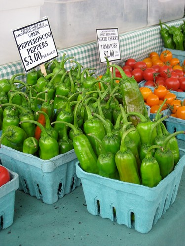 Saturday Market - Peppers