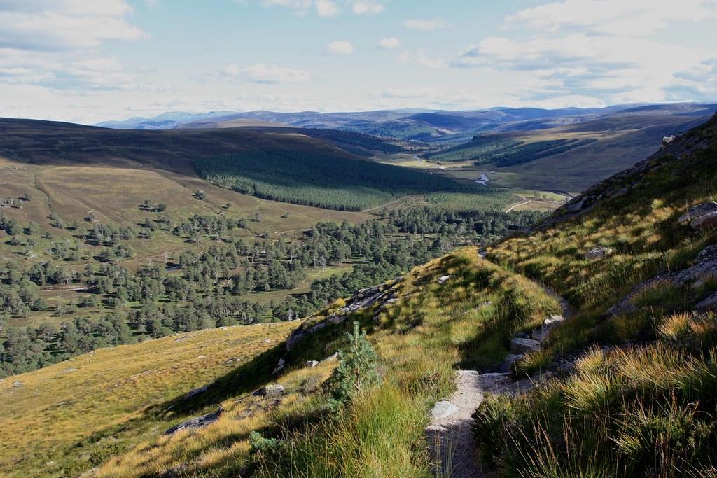 Descent into Glen Derry