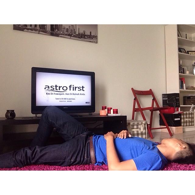 Bila yg di pawagam ditonton di rumah... Inilah nasibnya.. #AstroFirst