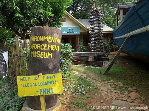 Environmental Enforcement Museum Entrance at Puerto Princesa City, Palawan, Philippines