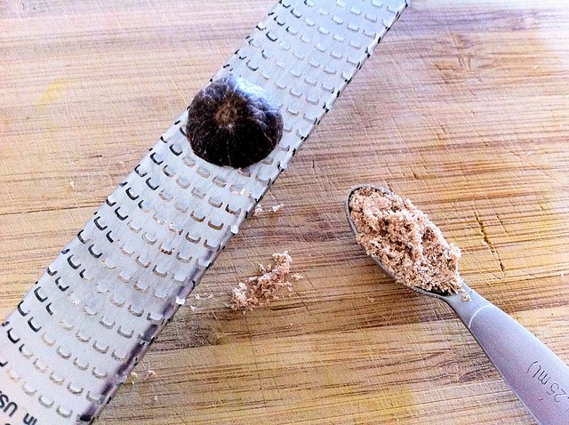 1/4 teaspoon Freshly Grated Nutmeg