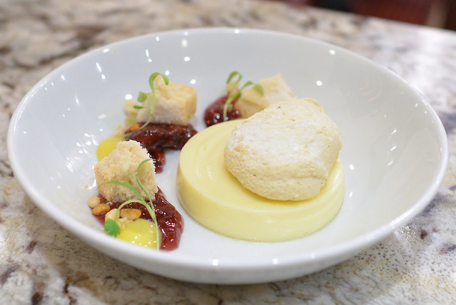 LEMON PUDDING shortbread, yuzu curd, fig