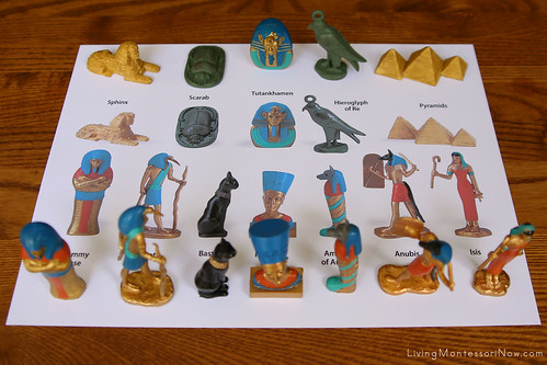 Ancient Egypt Maching Using Safari Ltd. TOOB Key