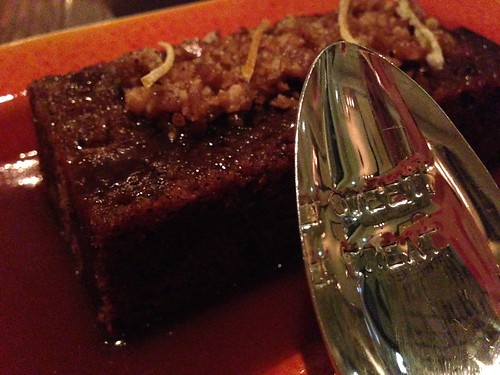 Sticky Toffee Pudding at The Church Key