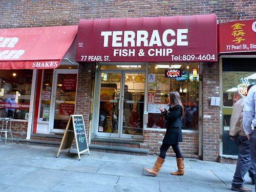 Terrace fish chips nut free new york for Terrace fish and chips