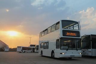 Coach services X509EGK (c) Alan Cooper