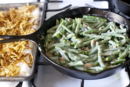 green bean casserole with crispy onions | smitten kitchen