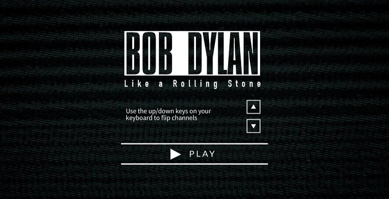 Bob Dylan  Like A Rolling Stone  - Official Interactive Video!