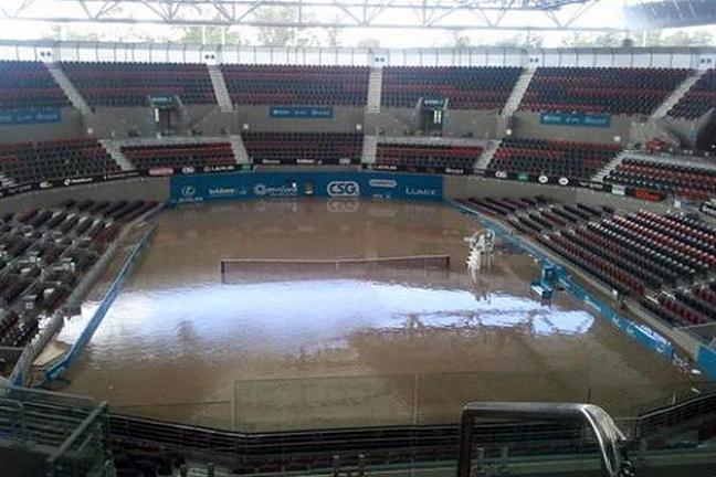 Pat Rafter Arena. Image: @beckodotcom.