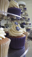 Fresh Fruit Wedding Cupcake