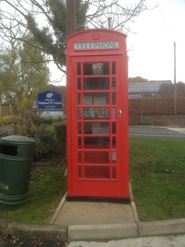 Nayland Telephone Box book swap