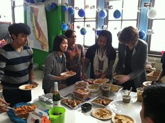 Advisory Thanksgiving potluck