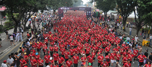 We Run MNL 2013 flags off 14000 runners in Marikina City_1.jpg