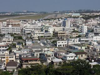 20131130_宜野湾市 嘉数高台より普天間基地を望む