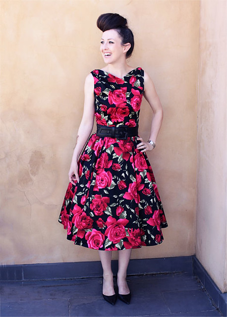 roses dress 6 flickr photo sharing. Black Bedroom Furniture Sets. Home Design Ideas