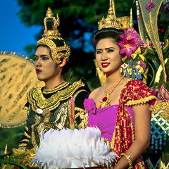 Loy Krathong King and Queen