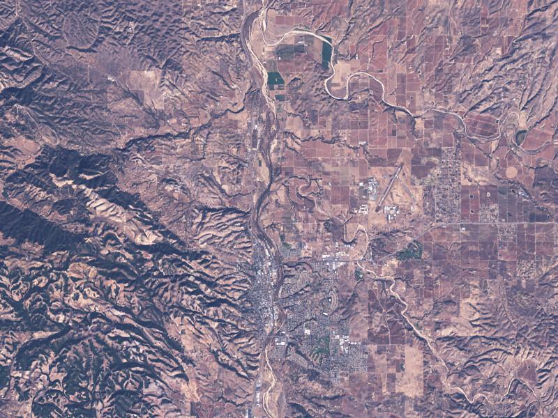 Pansharpen Landsat 8