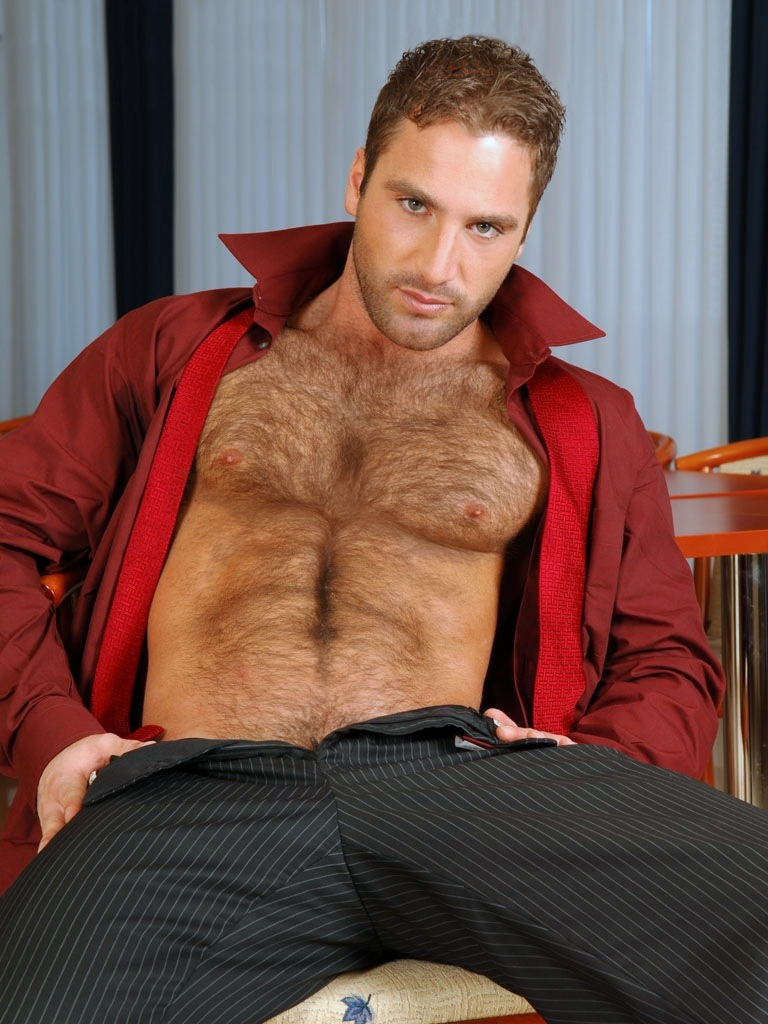 Hairy mature male
