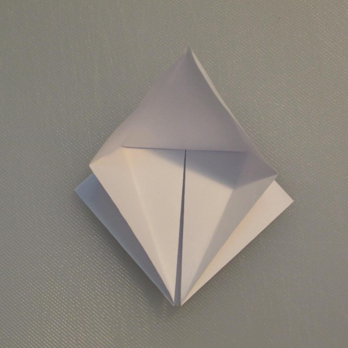 วิธีพับกระดาษเป็นรูปนกกระเรียน 006