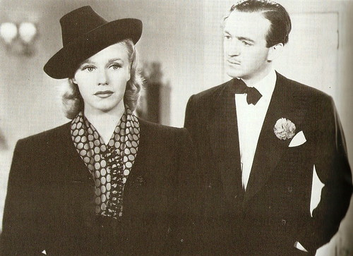 Ginger Rogers and David Niven in 'Bachelor Mother' (1939)
