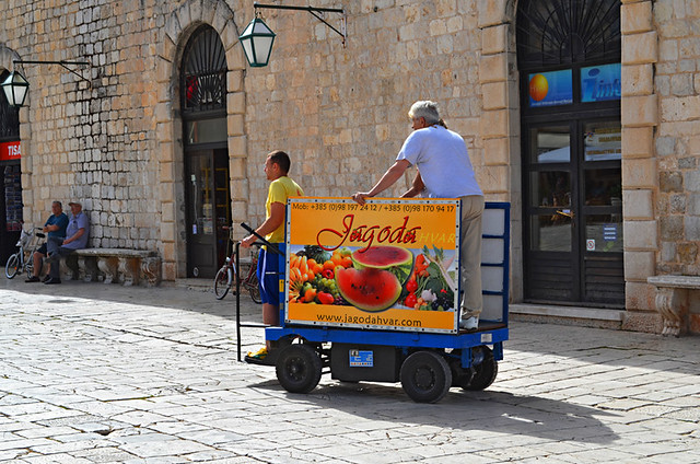 Delivery Cart, Hvar, Croatia