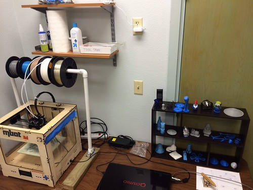 the 3D Printing (beta) Station at #HawaiiTechWorks