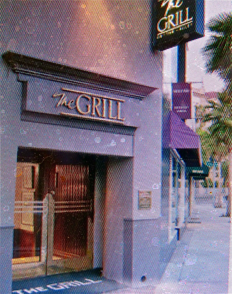 entrance to The Grill