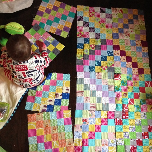 I really need to make some more #scrappytripalongblocks and make this quilt already!