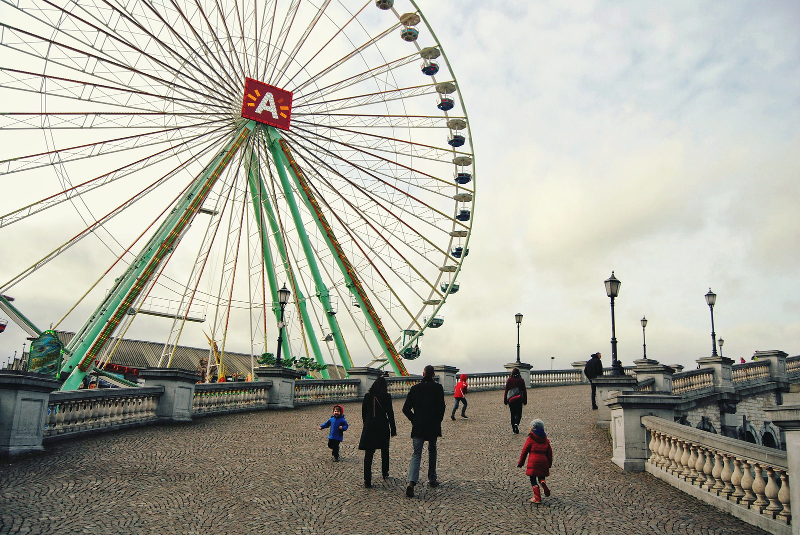 Things to do in Antwerp: ride the famous Ferris wheel.
