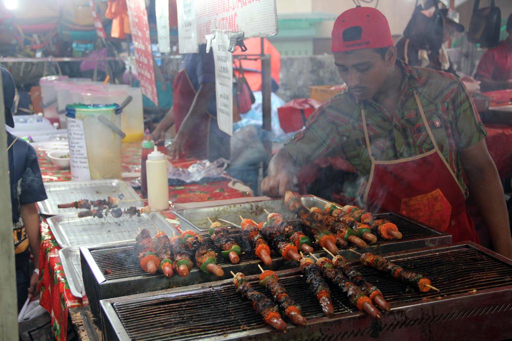 Night market in Kuala Lumpur