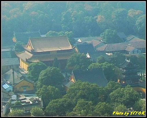 杭州 西湖 (西湖十景之一) 淨慈寺 - 001 (南屏晚鐘)(從雷峰塔鳥瞰 淨慈寺)