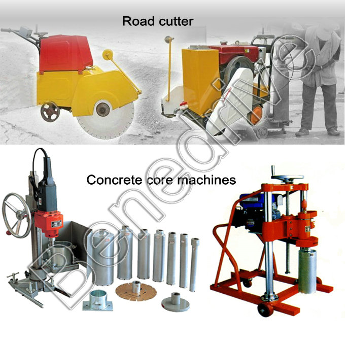 CCM concrete core and cutting machines