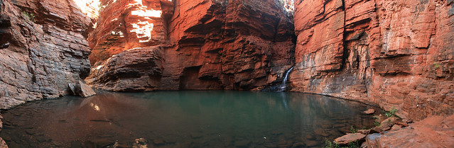 Handrail Pool ,Karijini National Park WA