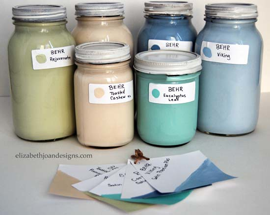 mason jar paint storage 7