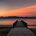 Early Morning at Lake Tahoe's Kings Beach Pier