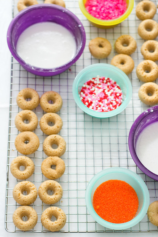 Doughnut Dipping Station