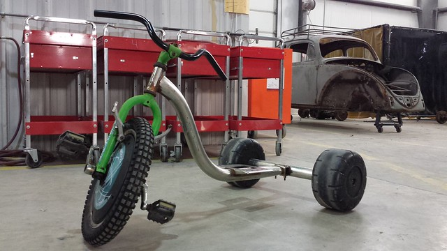 how to build a pit bike drift trike