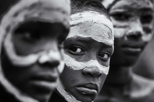 eyes of the girl... Surma girls - Ethiopia