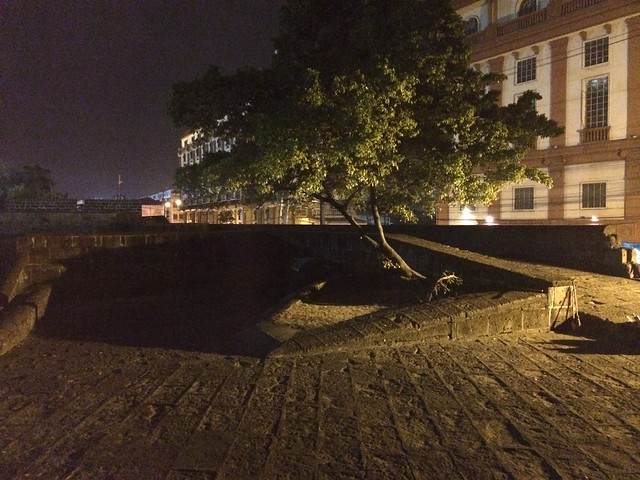 Intramuros at night
