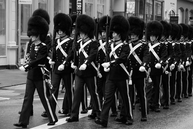 Royal Guards Marching - Copenhagen