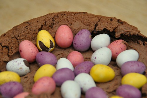 Mini Egg Cake for Easter