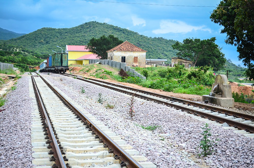 Humbia train station