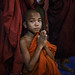 Novice monk - Bagan, Myanmar by Maciej Dakowicz