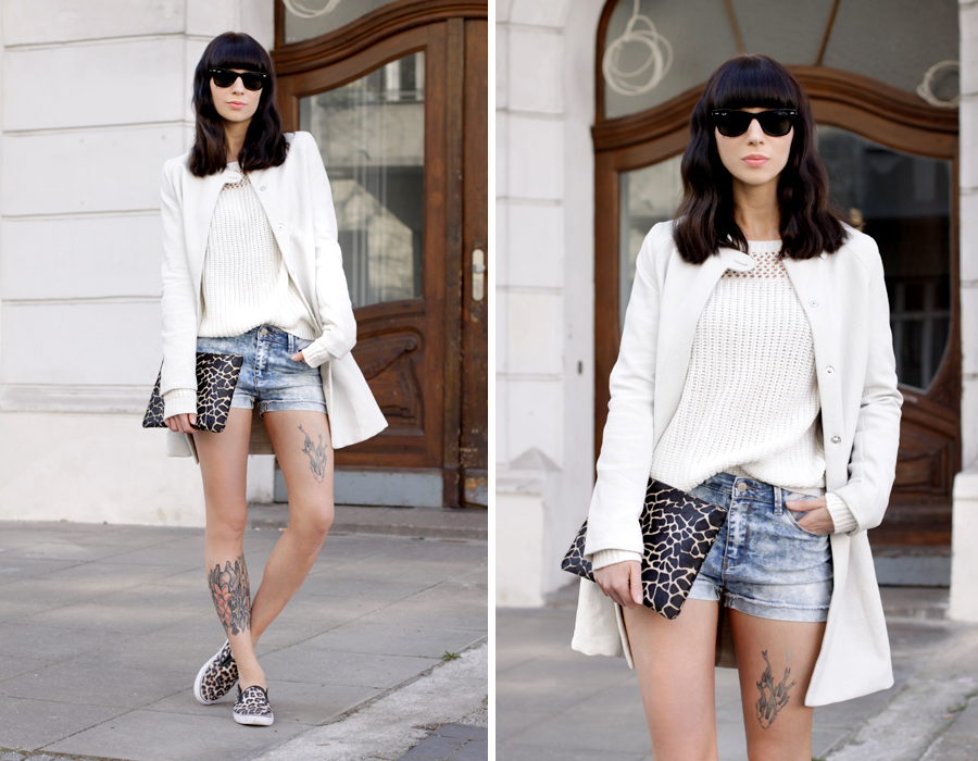 Jeans Shorts Tally Weijl 3 ways to wear blogger style party shopping weekend styling outfit ootd CATS & DOGS fashion blog Berlin Ricarda Schernus 10