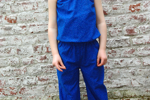Ash Jumpsuit testing - middle detail