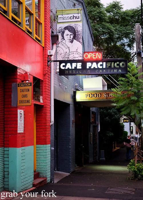 Cafe Paci at the former Cafe Pacifico site, Darlinghurst