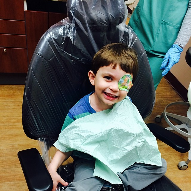He did swell with some bribing . #dentist