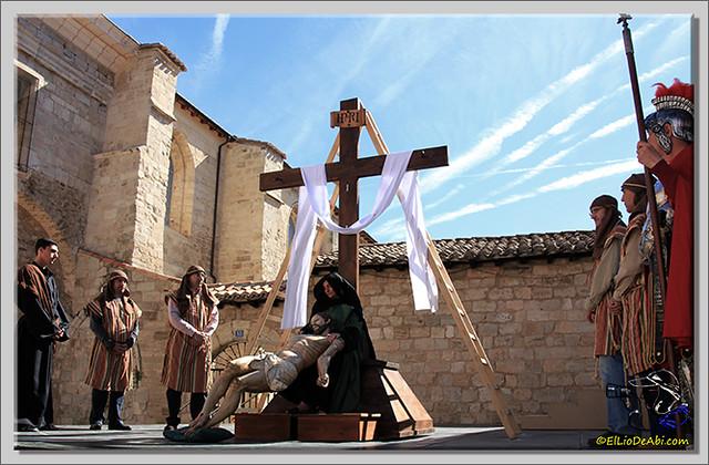 1 Via Crucis Semana Santa en Briviesca