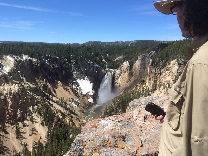 Yellowstone's Little Grand Canyon