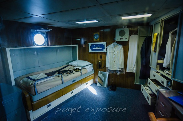 Captains Quarters USS Turner Joy (DD-951)